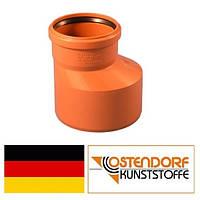 Редукция ПВХ 160/110 мм наружной канализации Ostendorf Германия