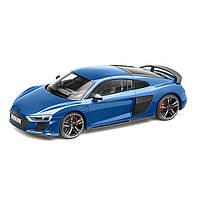 Модель электромобиля Audi R8 Coupé MY19, Ascari Blue, Scale 1:18, артикул 5011918451