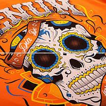 Футболка Venum Santa Muerte 2.0 T-shirt Orange, фото 3