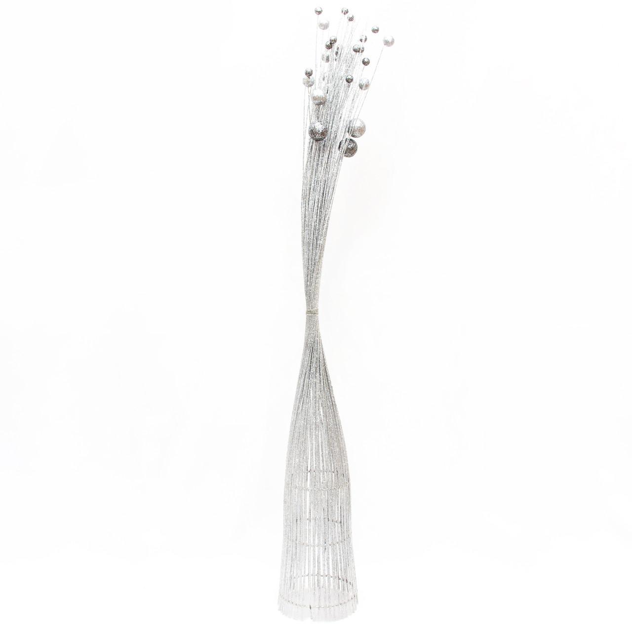 Дерево-ваза 95см, серебро (770076-1)