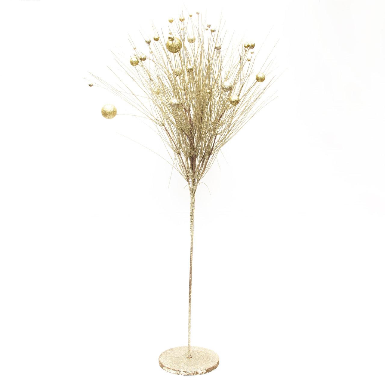 Дерево на подставке, 120см, золото (770090-2)