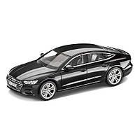 Модель автомобіля Audi A7 Sportback, Myth Black, Scale 1:43, артикул 5011707032