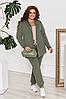 Жіночий брючний костюм з кардіганом, з 42-54 розмір