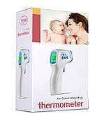 Термометр-пирометр бесконтактный TE-808 для тела ( 32 - 42.9 ℃), предметов (0 + 100℃)