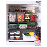 17 шт. Набор контейнеров для продуктов IKEA PRUTA прозрачный зеленый 601.496.73, фото 7