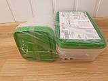 17 шт. Набор контейнеров для продуктов IKEA PRUTA прозрачный зеленый 601.496.73, фото 10