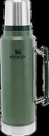 Термос STANLEY Classic Legendary 1.4 литра зелёный Стенли Стэнли Стенлі Класік Классик