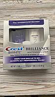 Crest 3D White Brilliance 2 шага отбеливания , зубная паста Deep Clean (4 унции) + гель для отбеливания зубов