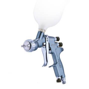 Пневматичний фарборозпилювач LVMP верх.пласт.бачок 600мл, форсунка-1,3 мм ITALCO