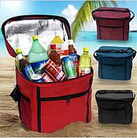 Сумка для обедов. Термостойкая сумка. Стильная сумка холодильник. Сумка ланчбокс. Сумка для напитков Код: КЮ24