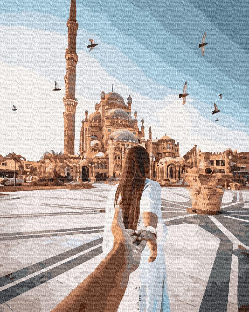 Картина по номерам Следуй за мной. Шарм Эль Шейх 40 х 50 см (BK-GX36280)