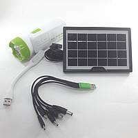 Фонарь - лампа Power Bank с солнечной панелью CcLamp CL-032