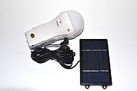 Светодиодная лампа фонарь GD-Light GD-652 с солнечной панелью