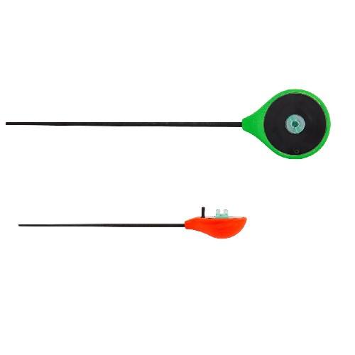 Удочка-балалайка зимняя Salmo Handy Ice Rod зеленая