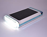 Зарядний пристрій Power Bank UKC Універсальний 15000mAh з сонячною панеллю, фото 1