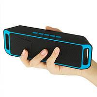 Портативная акустика bluetooth MP3 UKC - ATLANFA AT-7725 BT Music MegaBass A2DP Stereo
