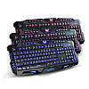 Ігрова клавіатура з підсвічуванням Tricolor M200