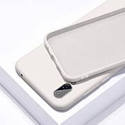 Силиконовый чехол SLIM на Iphone X/Xs Creamy