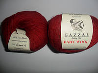 Gazzal Baby Wool - 816 темно красный