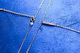 Цепочка фирмы Xuping с подвеской (1016 45СN R6500 color), фото 3