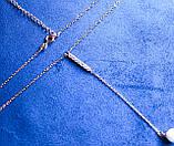 Цепочка фирмы Xuping с подвеской (1016 45СN R6500 color), фото 4