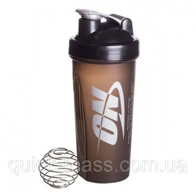 Шейкер Optimum Nutrition с металлическим шариком 700мл