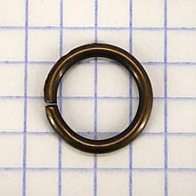 Кольцо 12x2 мм антик для сумок t4351 (200 шт.)