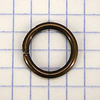 Кольцо 12*2 мм антик для сумок t4351 (200 шт.)