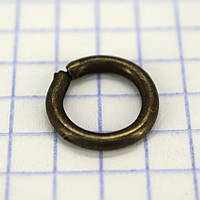 Кольцо 9*2 мм антик для сумок t4352 (100 шт.)
