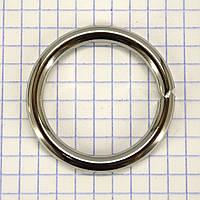 Кольцо 30*4,7 мм никель для сумок t4332 (10 шт.)