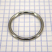 Кольцо 29*3 мм никель для сумок t4338 (50 шт.)
