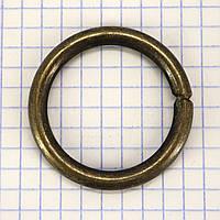 Кольцо 30*4,7 мм антик для сумок t4332 (10 шт.)