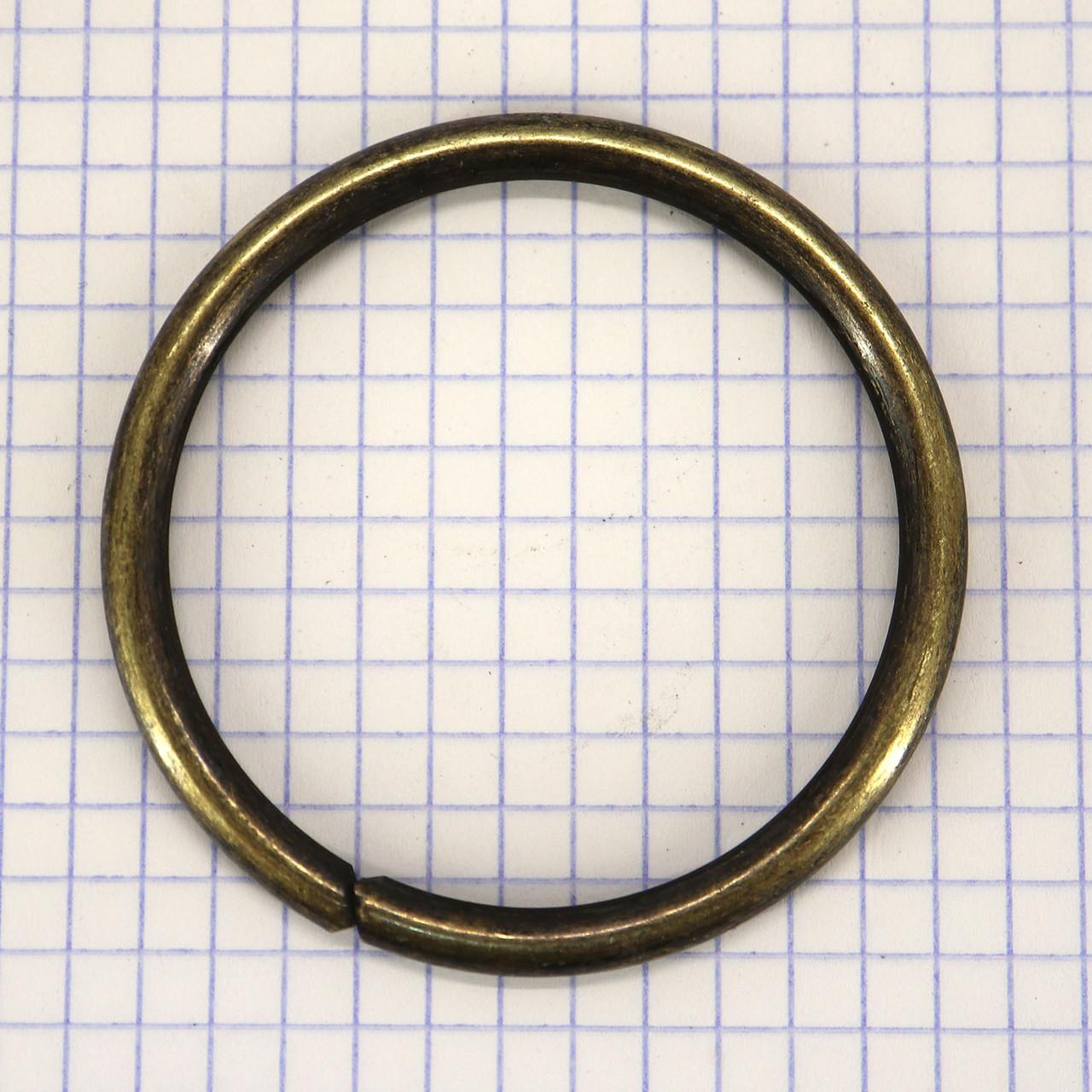 Кольцо 51x4,7 мм антик для сумок t4327 (10 шт.)