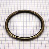 Кольцо 51x4,7 мм антик для сумок t4327 (10 шт.), фото 2