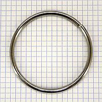 Кольцо 68*4,7 мм никель для сумок t4328 (10 шт.)