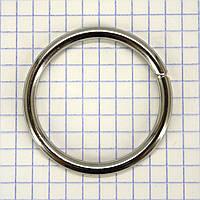 Кольцо 36*4 мм никель для сумок t4335 (20 шт.)