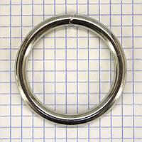 Кольцо 38*5,5 мм никель для сумок t4330 (10 шт.)