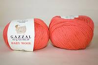Gazzal Baby Wool - 819 коралловый
