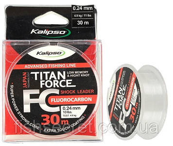 Флюорокарбон Kalipso Titan Force FC Leader 30m