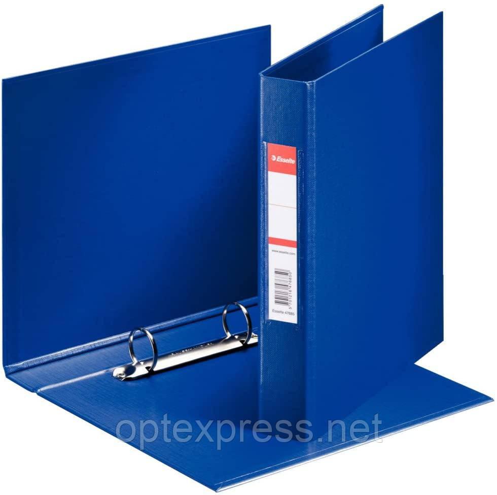Папка-регистратор A5 с 2 кольцами, корешок 35 мм - Esselte синяя