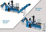 Оборудование для производства пеллет МЛГ-1500 MAX+ (производительность на пеллете до 500 кг/час), фото 5