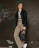 Модная квадратная женская черная сумка кросс боди с длинным ремешком через плечо, фото 4