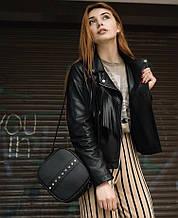 Модная квадратная женская черная сумка кросс боди с длинным ремешком через плечо