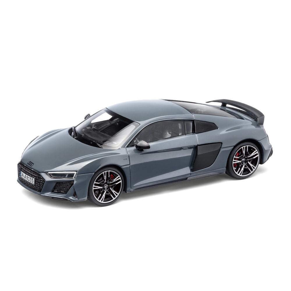 Масштабная модель Audi R8, Coupé MY19, Kemora Grey, Scale 1:43, Limited Edition, артикул 5011918431