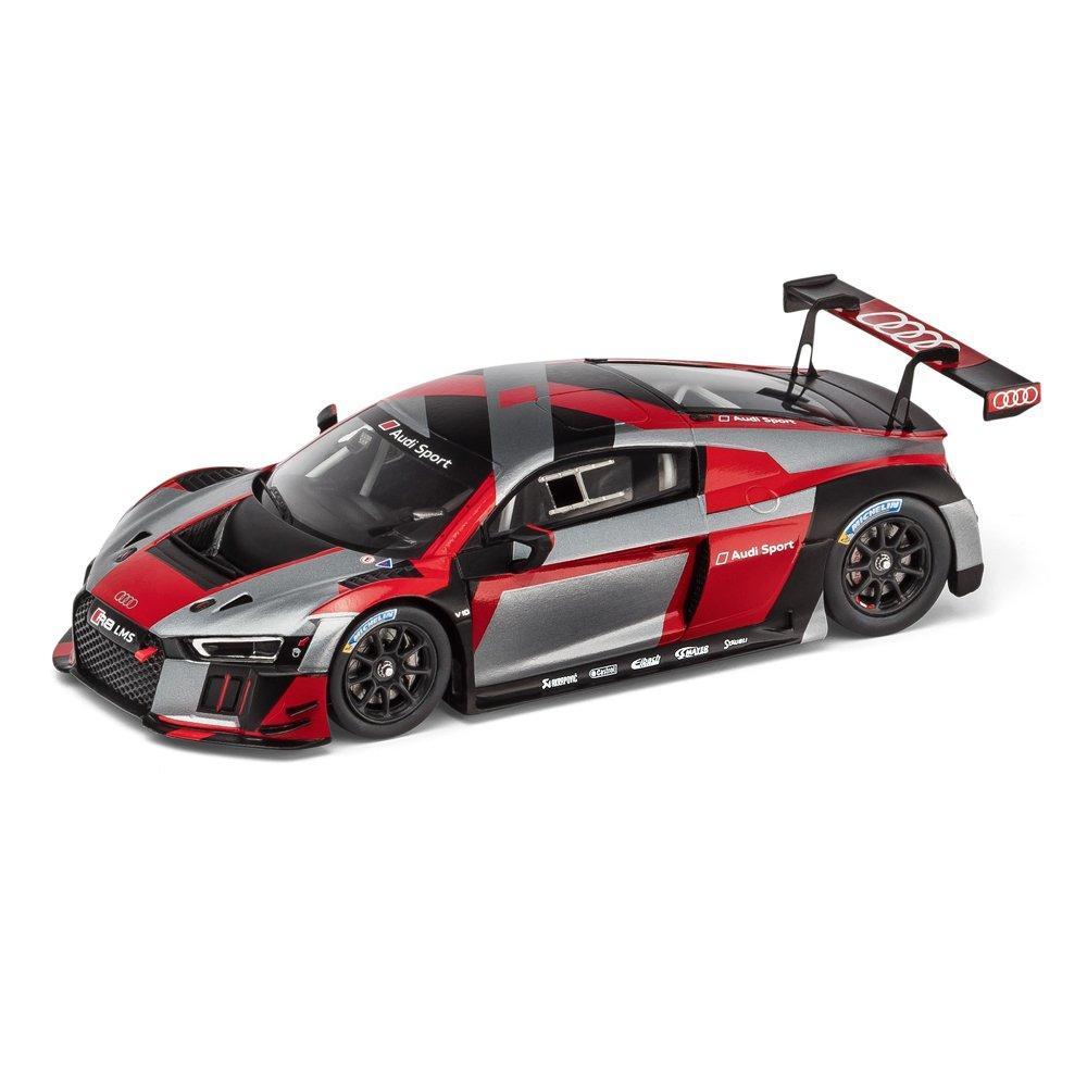 Модель гоночного болида Audi R8 LMS presentation, warpaint, Scale 1:43, артикул 5021700331