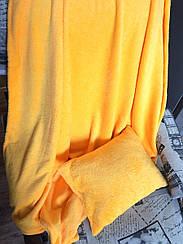 Дитячий плед 110*115 з подушечкою 30*30см мікрофібра Жовтий