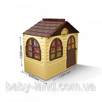 Будиночок дитячий пластмасовий Doloni 02550/12