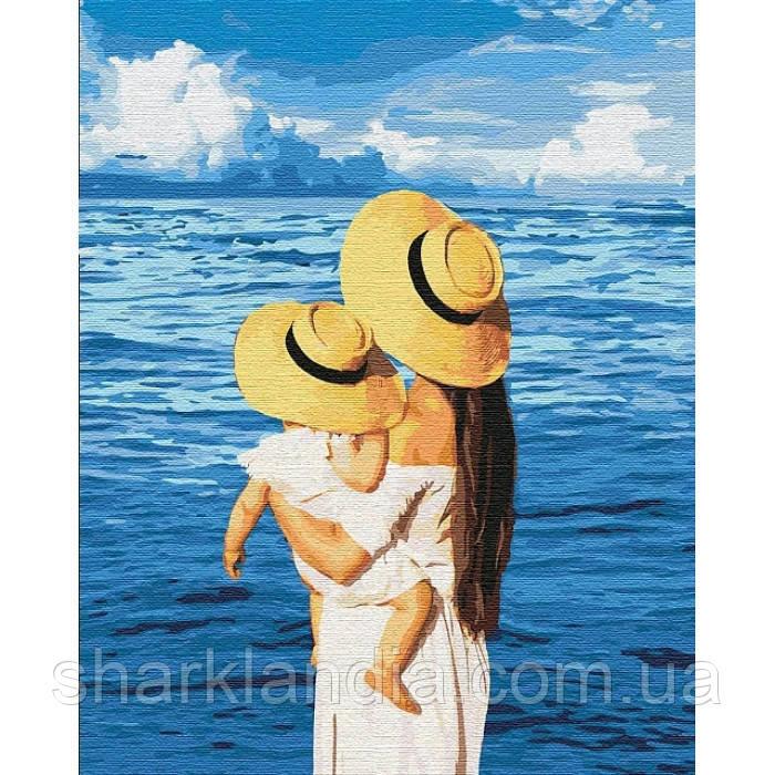 """Картина по номерам. """"Шепот моря"""" 40*50см KHO4738"""