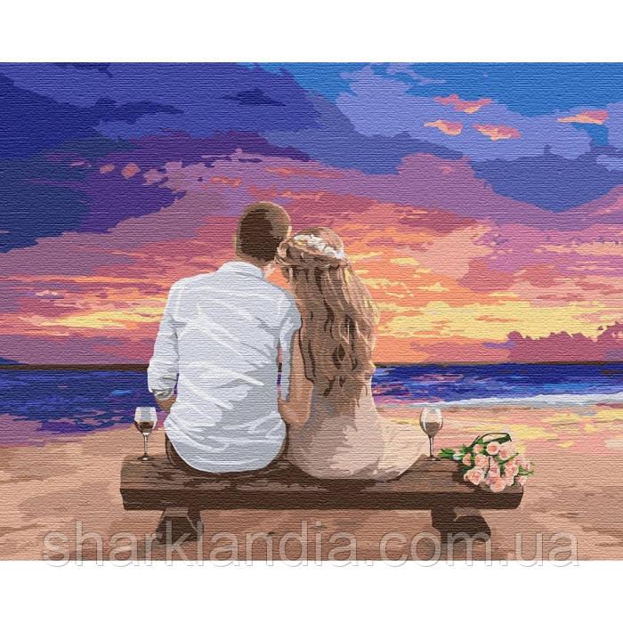 Картина по номерам Люби меня 40*50см KHO4740 День Св. Валентина