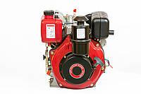 Двигун дизельний Weima WM178FES (R) 6,0 л.с. (вал ШПОНКА, електростартер, 1800об/мин) + редуктор